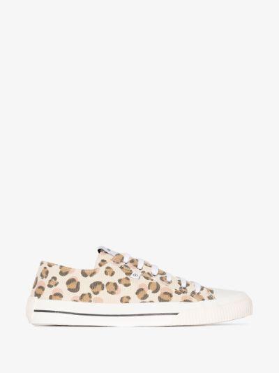 Multicoloured Midnight leopard print sneakers