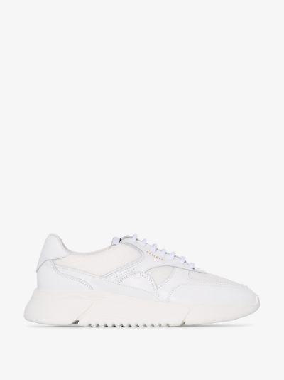 White Genesis low top sneakers