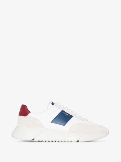 White Genesis Vintage Runner Sneakers