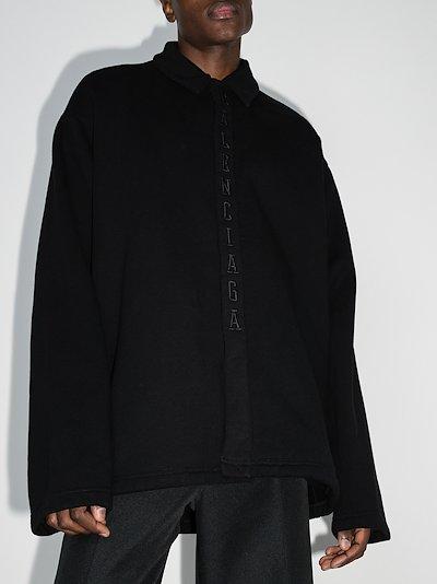 Basketball Cocoon Shirt Jacket