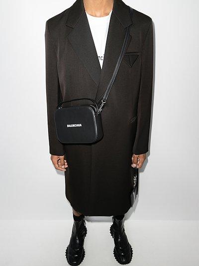 Black Everyday leather camera bag