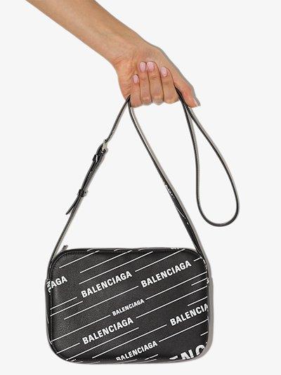 black Everyday XS leather camera bag