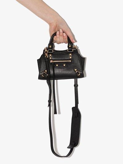 black Neo Classic nano leather mini bag
