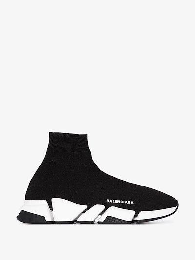 black Speed 2.0 sock sneakers