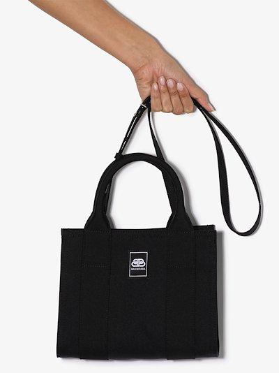 black Trade XS tote bag