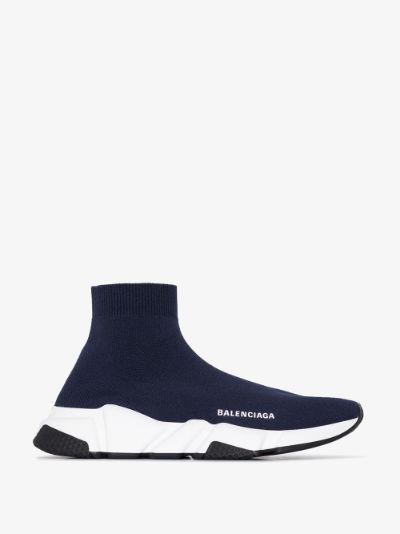 blue Speed sock sneakers