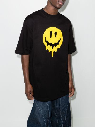 Drip Smiley print T-shirt