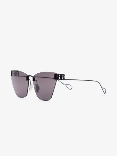 black Light cat eye sunglasses