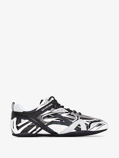 grey Drive mesh sneakers