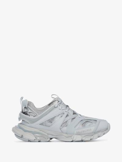 Grey Track panel sneakers