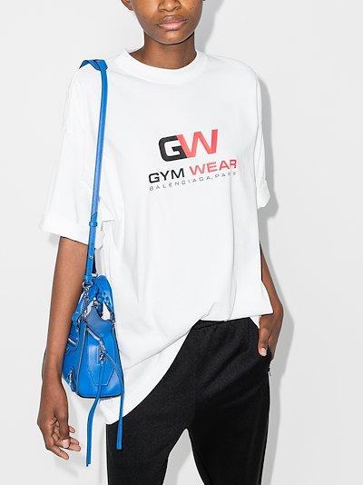 Gym Wear logo cotton t-shirt