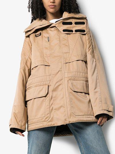 incognito parka coat