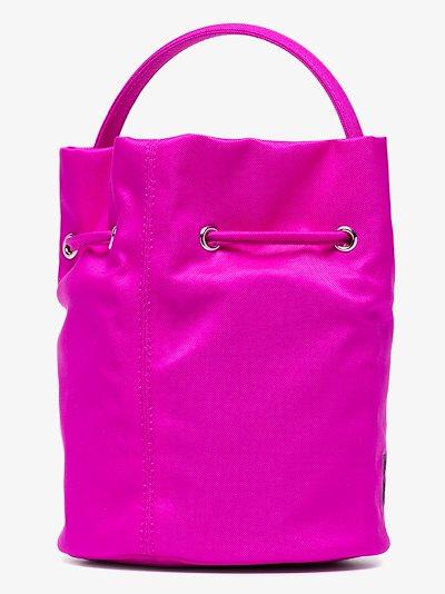 pink Wheel XS bucket bag