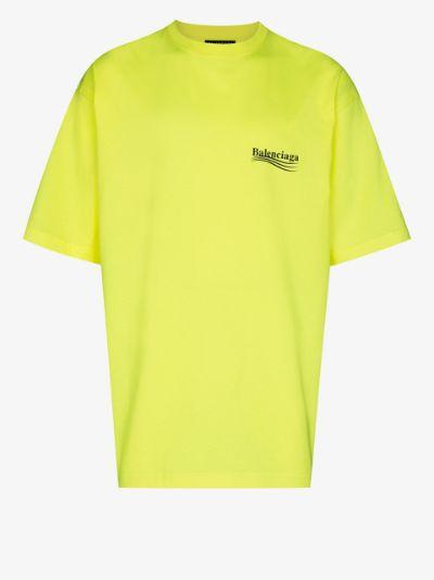 short-sleeve large fit T-shirt