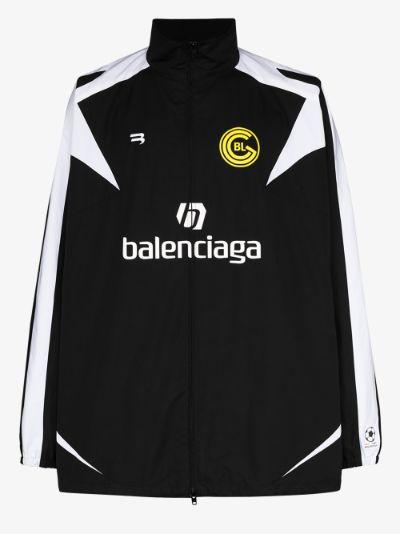 Soccer zip-up jacket