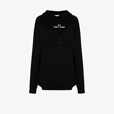 Sponsor logo cotton hoodie