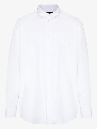 sponsor logo cotton shirt