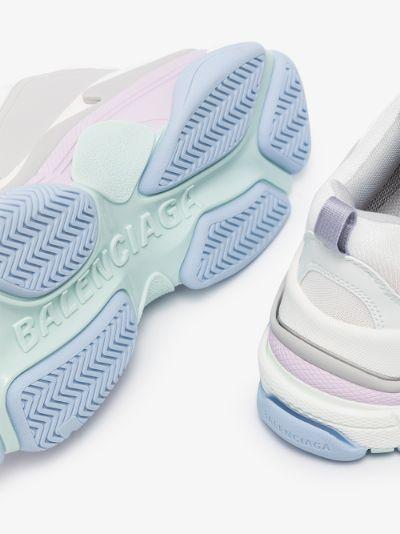 white Triple S chunky sneakers