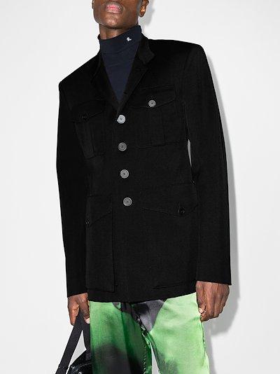 Wool military jacket