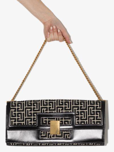 black 1945 baguette shoulder bag