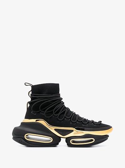 black B-Bold Hiking sock sneakers