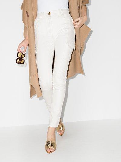 cargo pocket skinny jeans