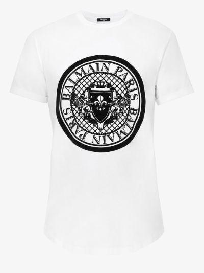 Coin logo cotton T-shirt