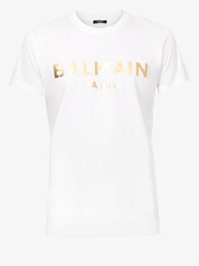 Gold foil logo T-shirt