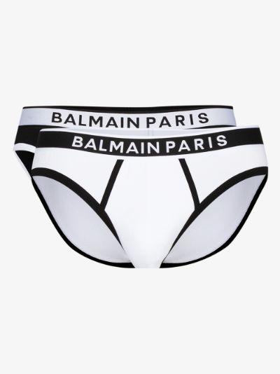 Logo waistband brief set