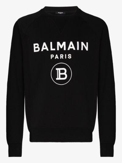 Paris logo print sweatshirt