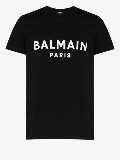Paris logo print T-shirt