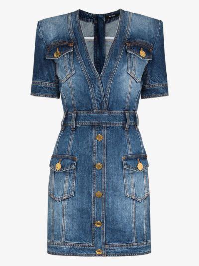 Vintage style denim dress