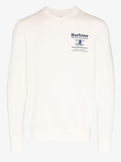 Reed logo print sweatshirt