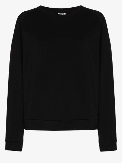 Basic organic cotton sweatshirt