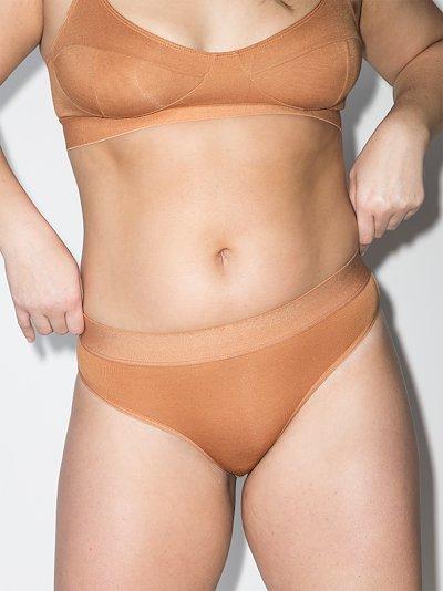 bell high waist briefs