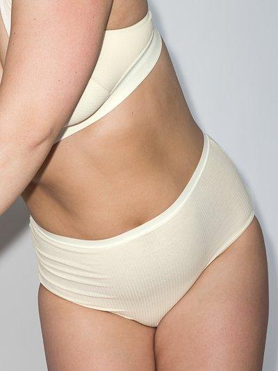 Bell high waist organic cotton briefs