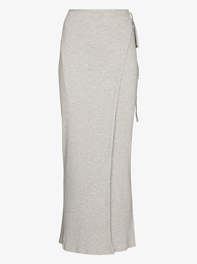 Brig knit skirt