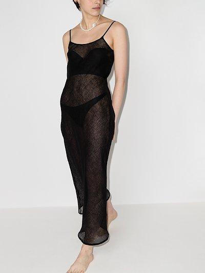 Dydine linen maxi dress