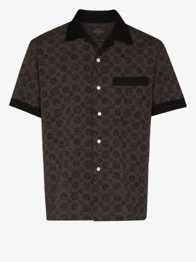 Takashima Chijimi printed shirt