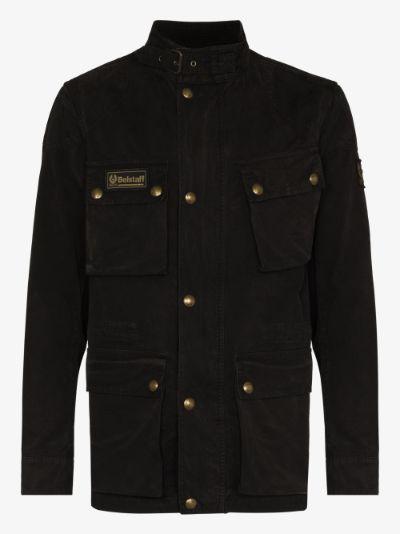 Fieldmaster waxed buttoned jacket