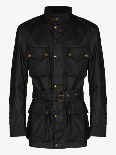 Trialmaster belted jacket