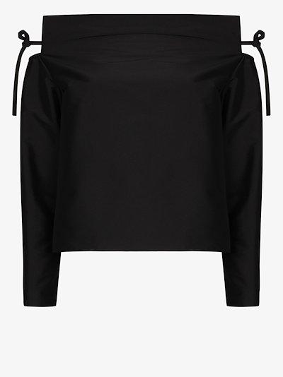 Caroline off-the-shoulder blouse