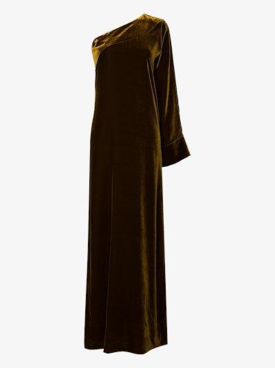 Gigi one shoulder evening gown