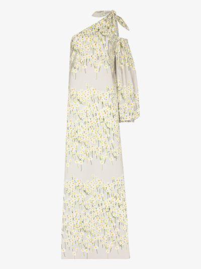Lucette one shoulder floral dress