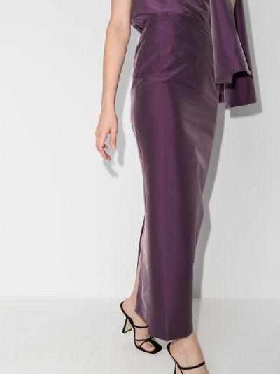 Norma maxi pencil skirt