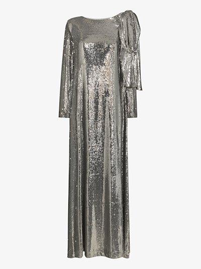Richard sequin evening gown