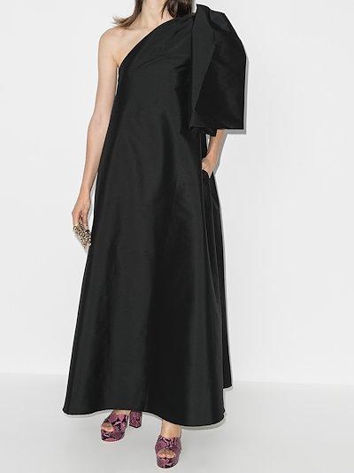 Winnie one shoulder evening gown