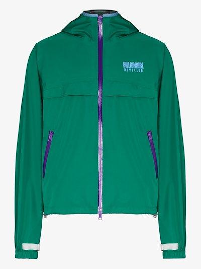 zipped shell jacket