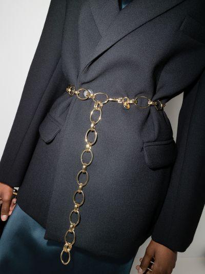 gold tone Clara II chain belt