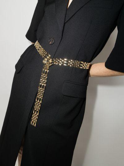 gold tone Katerina chain belt